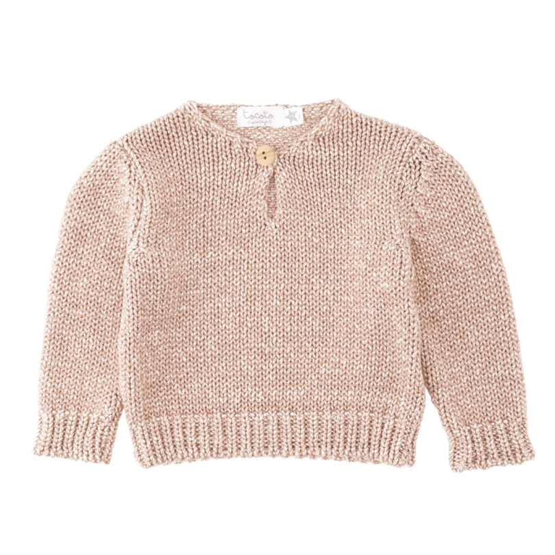 Tocoto Vintage Jersey Knit Sweater 79 Childrens Clothing Boutique Baby Frocks Designs Jersey Knit Sweater
