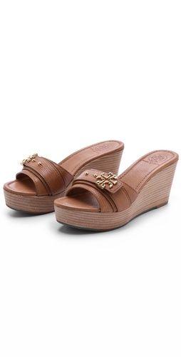 625e672194ed Elina Wedge Slides. Buy ShoesHappy BirthdayTory BurchWedgesFootwearHappy ...