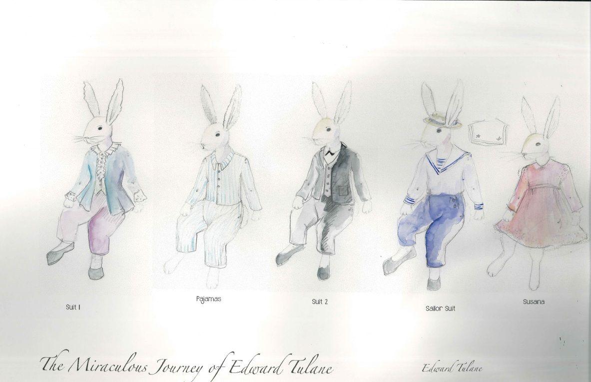 Edward Tulane, Part 1... Costume design by Adriana Diaz | The ...