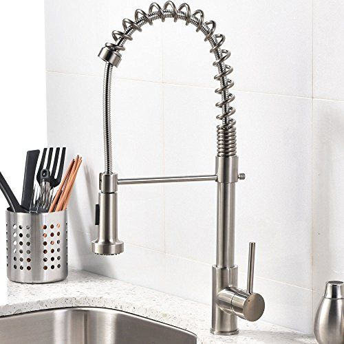 Best Modern Commercial Brushed Nickel Stainless Steel Pull Out ...