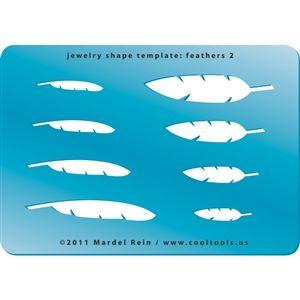 jewelry shape template feathers 2 jewellery design stencils