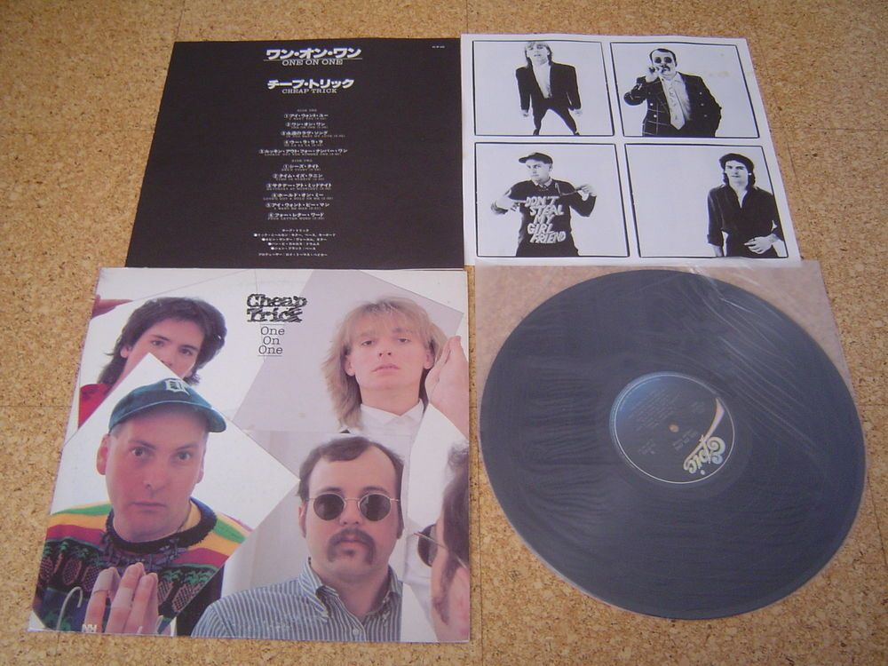 Cheap Trick ~ One on One/ Japan LP/ Sheet