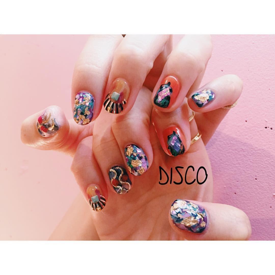 DISCOさんはInstagramを利用しています「Nail by @nagisakaneko