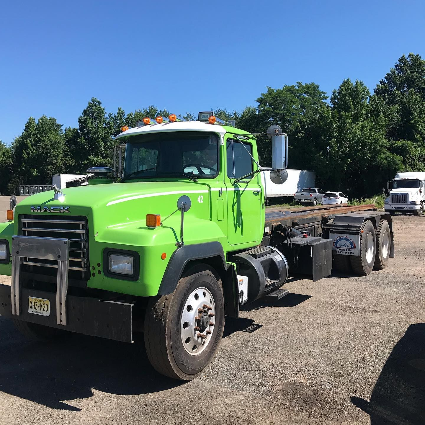 Another One Christensen Recycling Is Growing Yet Again Expanding Our Roll Off Fleet With Another Mack Truck Addi In 2020 Dumpster Service Mack Trucks Dumpster Rental