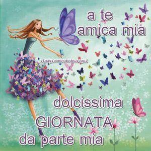 Cartoline Dolce E Buona Giornata Il Magico Mondo Dei Sogni