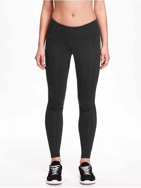 097ce00eae454 Go-Dry Mid-Rise Compression Legging for Women CA$29.94 CA$20.50 Color:  Blackjack Jas Elasticized waistband, with hidden pocket at back waist for  keys and ...