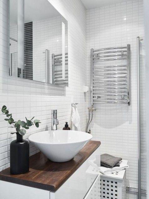 Beau Realxing Scandinavian Bathroom