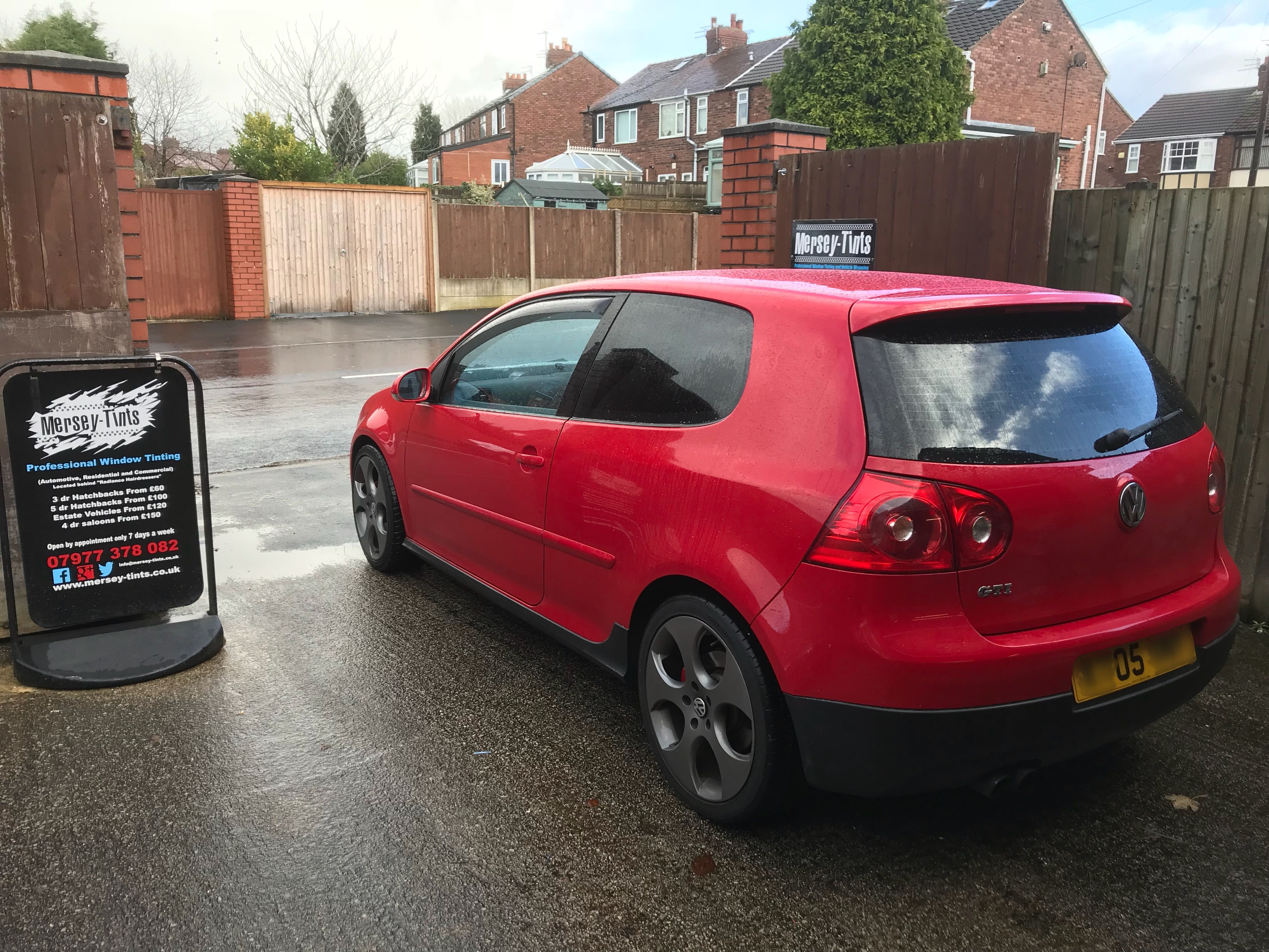 2005 Mk5 Vw Golf Gti In This Morning 5 Carbon Limo Tints To The