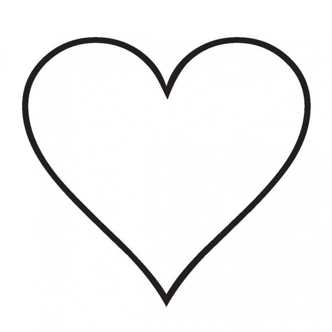 Hand Drawn Heart and Arrow Clip Art   Dibujos Para Colorear De ...