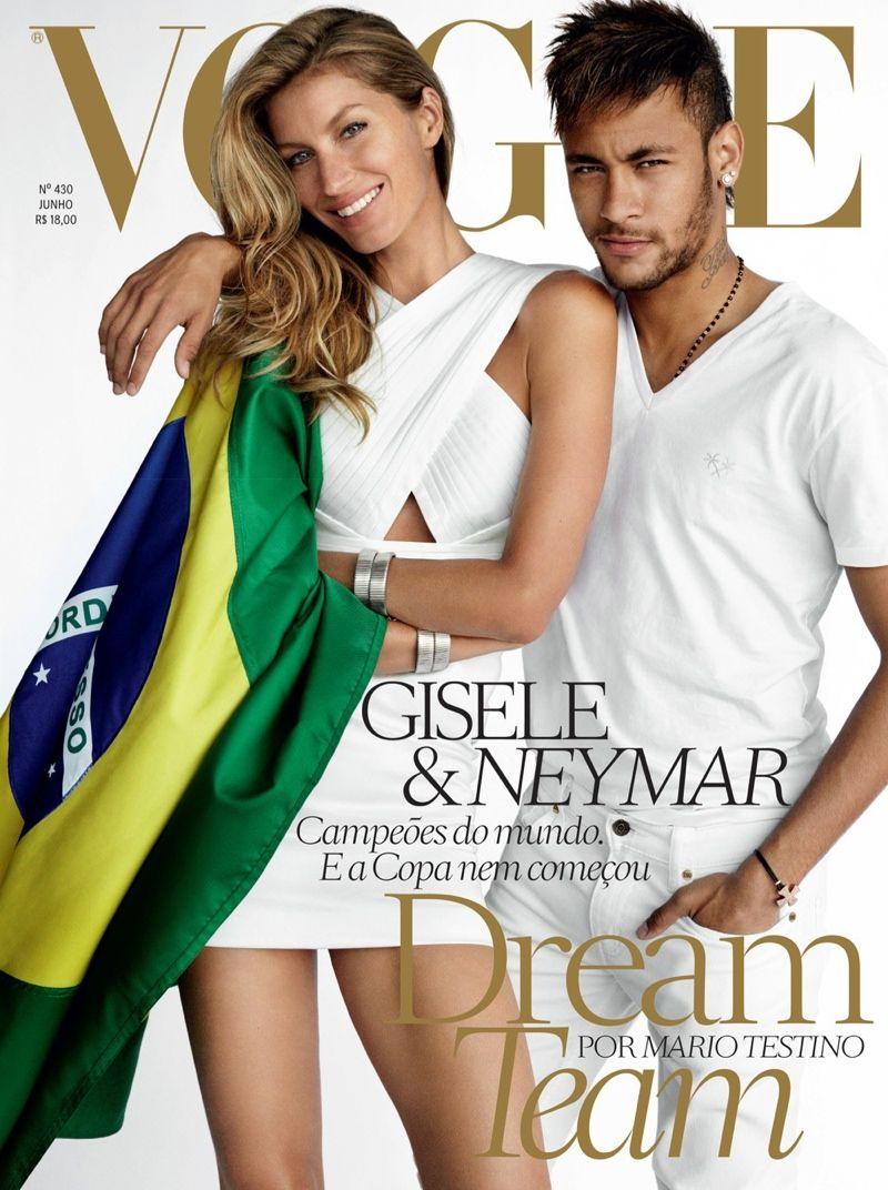61dba27f3c85 Best Cover Magazine - Top modelo e Top jogador para a Vogue Brasil