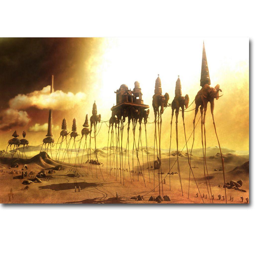 Caravan Salvador Dali Art Silk Poster Print 13x20 24x36 inch Surreal ...