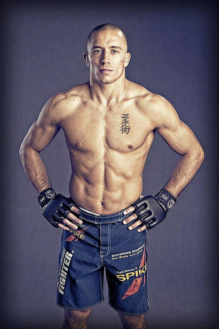 Georges St. Pierre <3- love his dvds, work ethics, humility, and ...