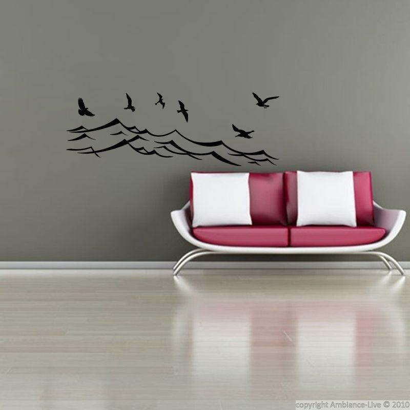 Sticker Oiseaux de mer stikers Pinterest
