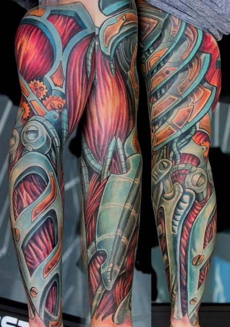 biomechanical color tattoos google search tattoo ideas pinterest color tattoo tattoo. Black Bedroom Furniture Sets. Home Design Ideas