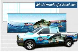 how to design a vehicle wrap in photoshop without a template