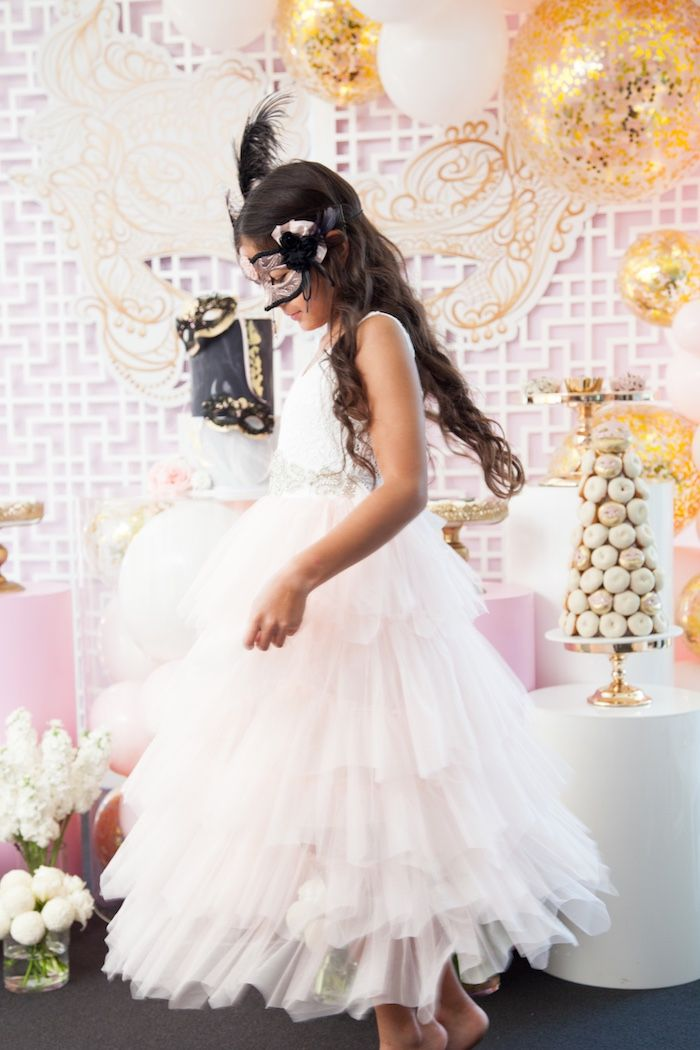 NYE Masquerade Slumber Party | Slumber parties, Birthday ...