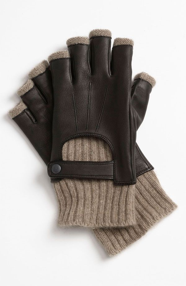 John Varvatos Star USA Fingerless Driving Gloves -  95.00   Dapper ... 5c603608153