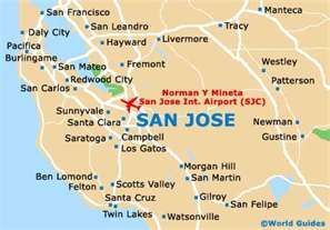 san jose usa map San Jose Ca San Jose Map San Jose California Map San Jose