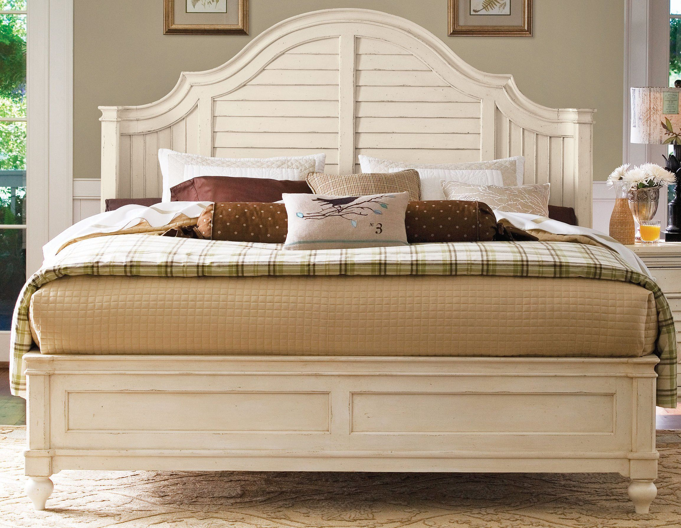 antique white bedroom paula deen furniture