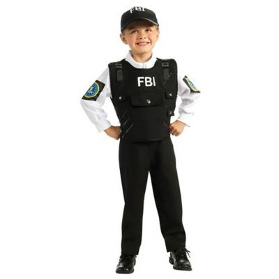 Adult  SPECIAL FORCES FBI Military Stag Party Fancy Dress Costume Mens Outfit