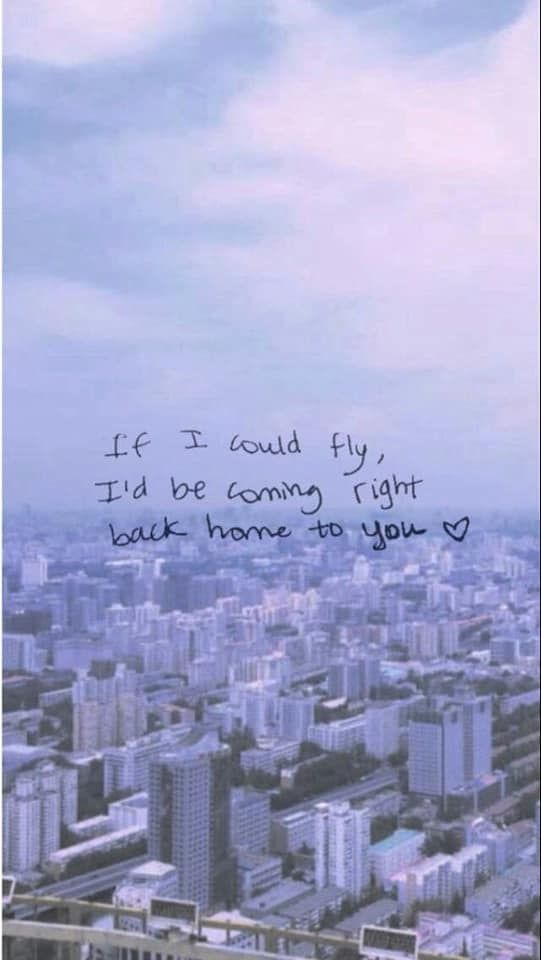 If I could fly, I'd be coming right back home to you - One Direction,  If I could fly #onedirectionbackground