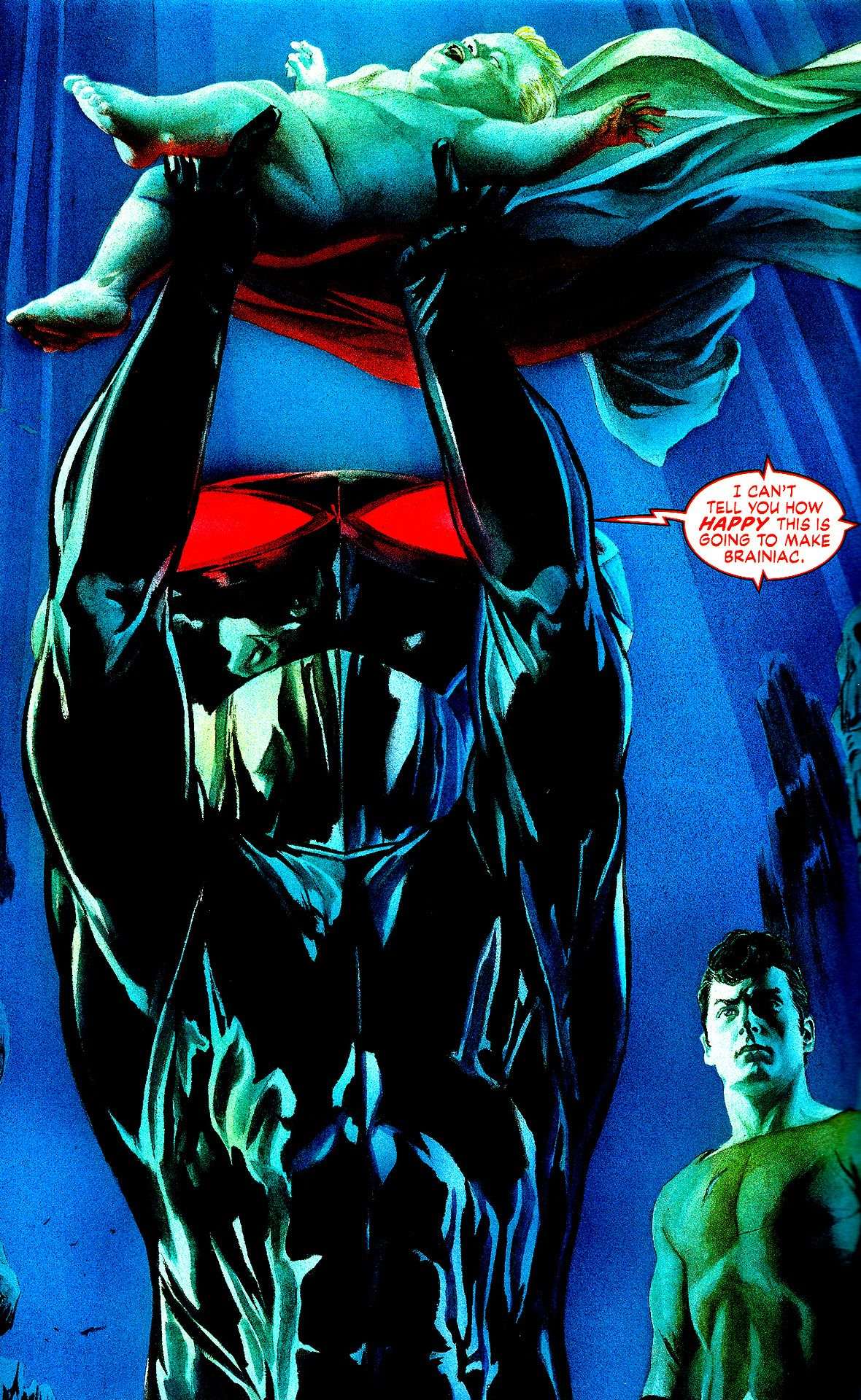 Black Manta/Justice#7 by Alex Ross | Art of Alex Ross ...