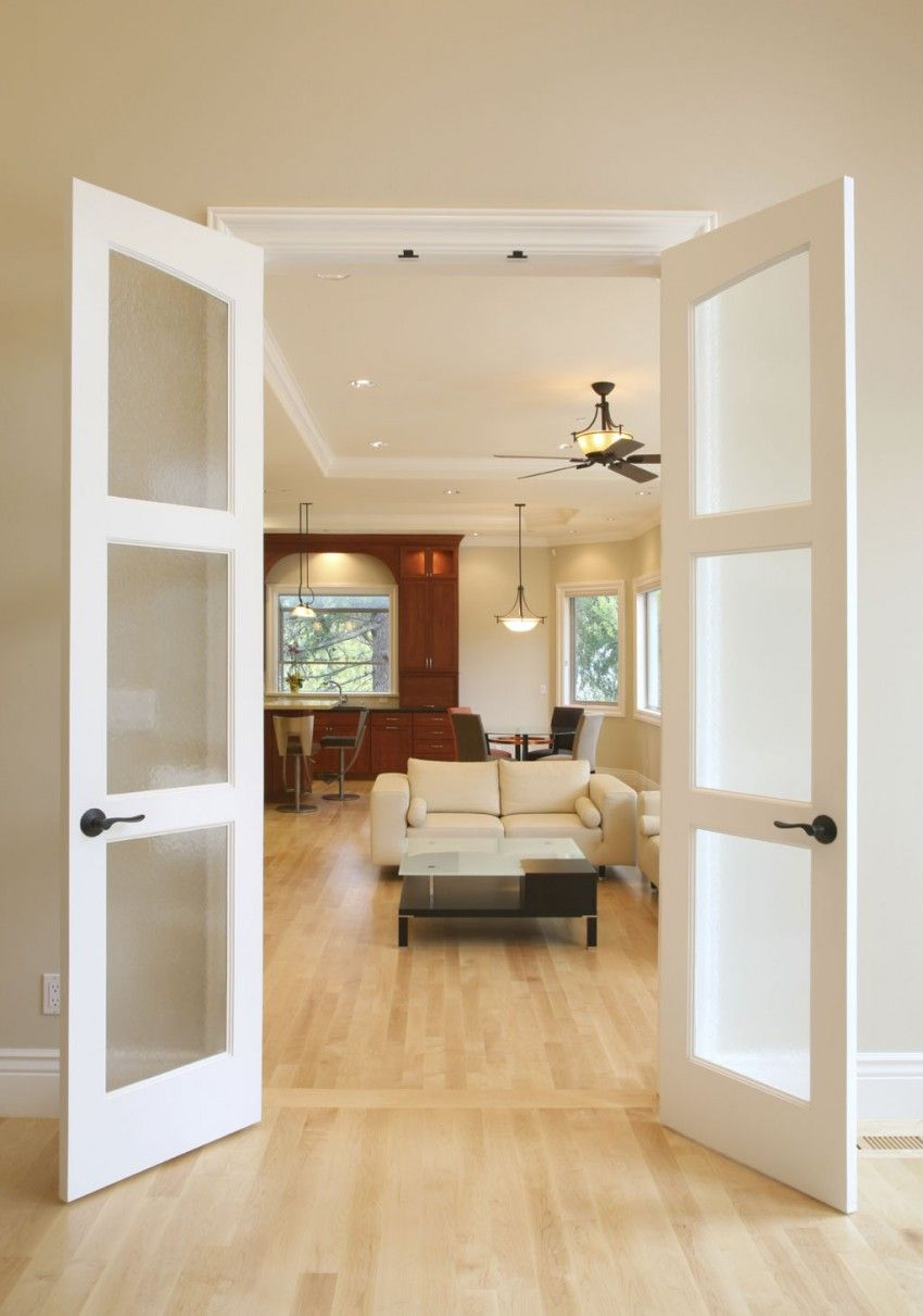 Interior French Doors with Glass | ... Take a Look at the ...