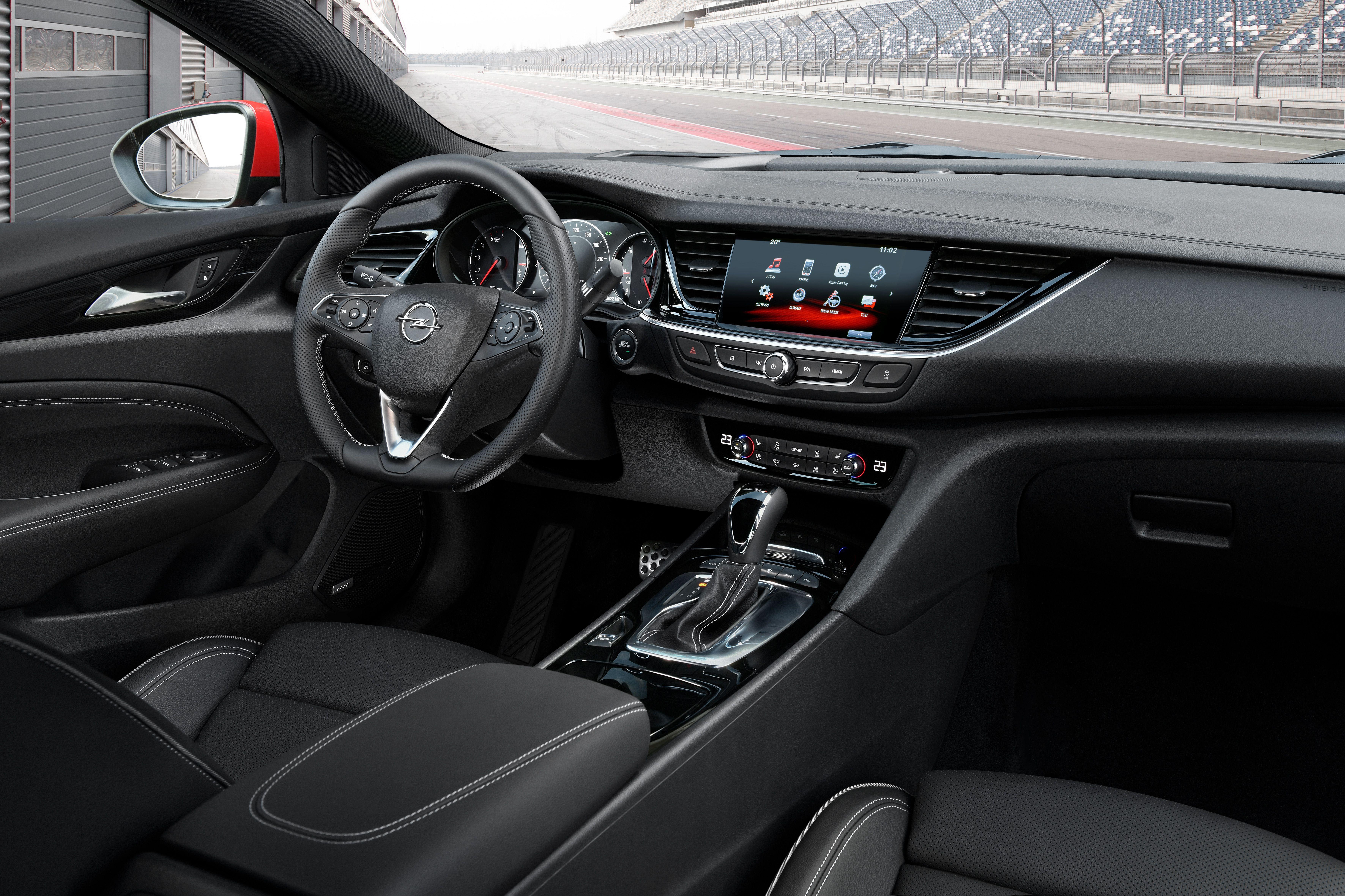 Opel Insignia Gsi 2018 Interior