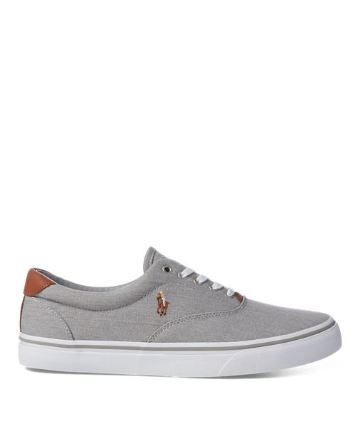 new concept ac00a 6e78c Polo Ralph Lauren Thorton Washed Twill Sneaker 1   Style ...