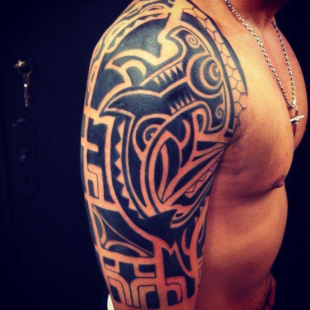 tattooyoubrasil maori shoulder sergiopisani ombro. Black Bedroom Furniture Sets. Home Design Ideas