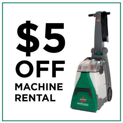 Carpet Cleaner Rental Coupon Special Offers From Bissell