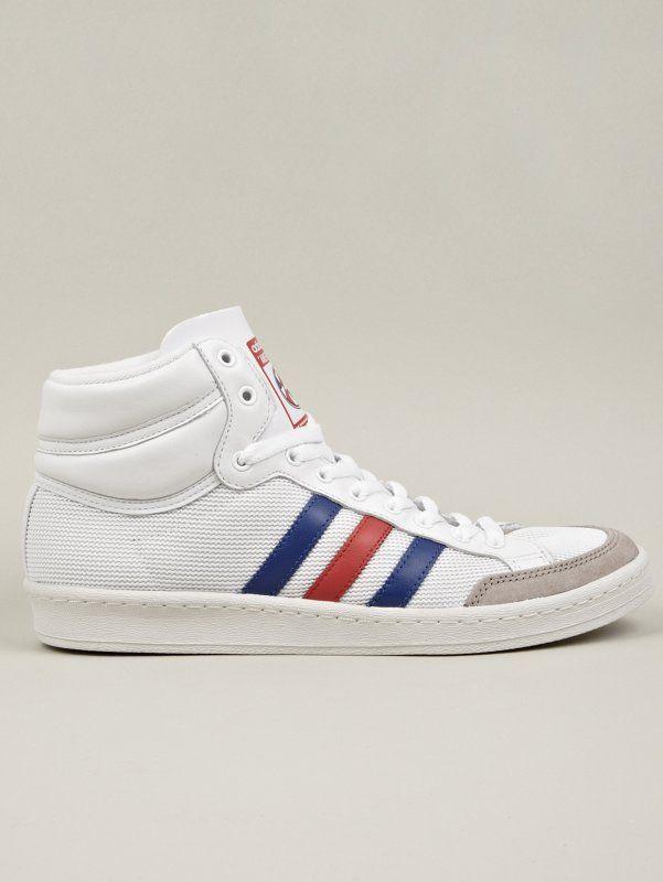 detailed look 1da35 78862 Adidas Originals White Americana Hi 88 Sneakers  oki-ni