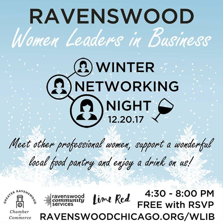 Happy Holidays The Greater Ravenswood Chamber Of Commerce Invites You To Our Final Event Of The Year Our Women Business Invitation Chamber Events Networking