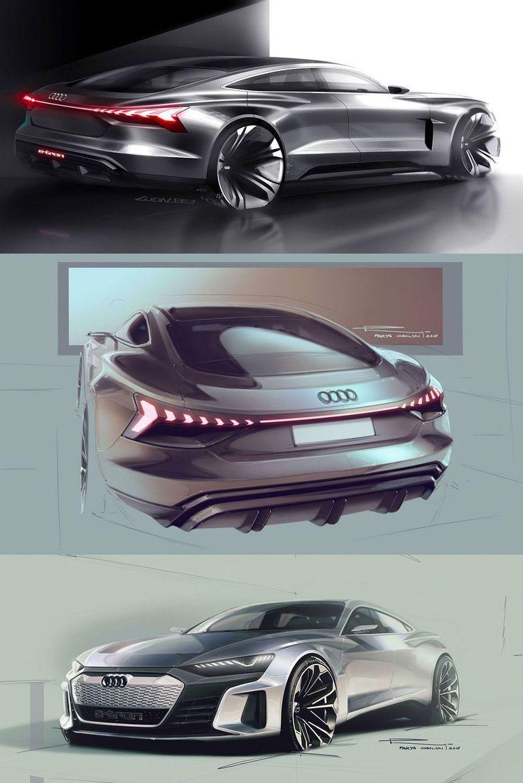 Audi e-tron GT concept: design sketches - -