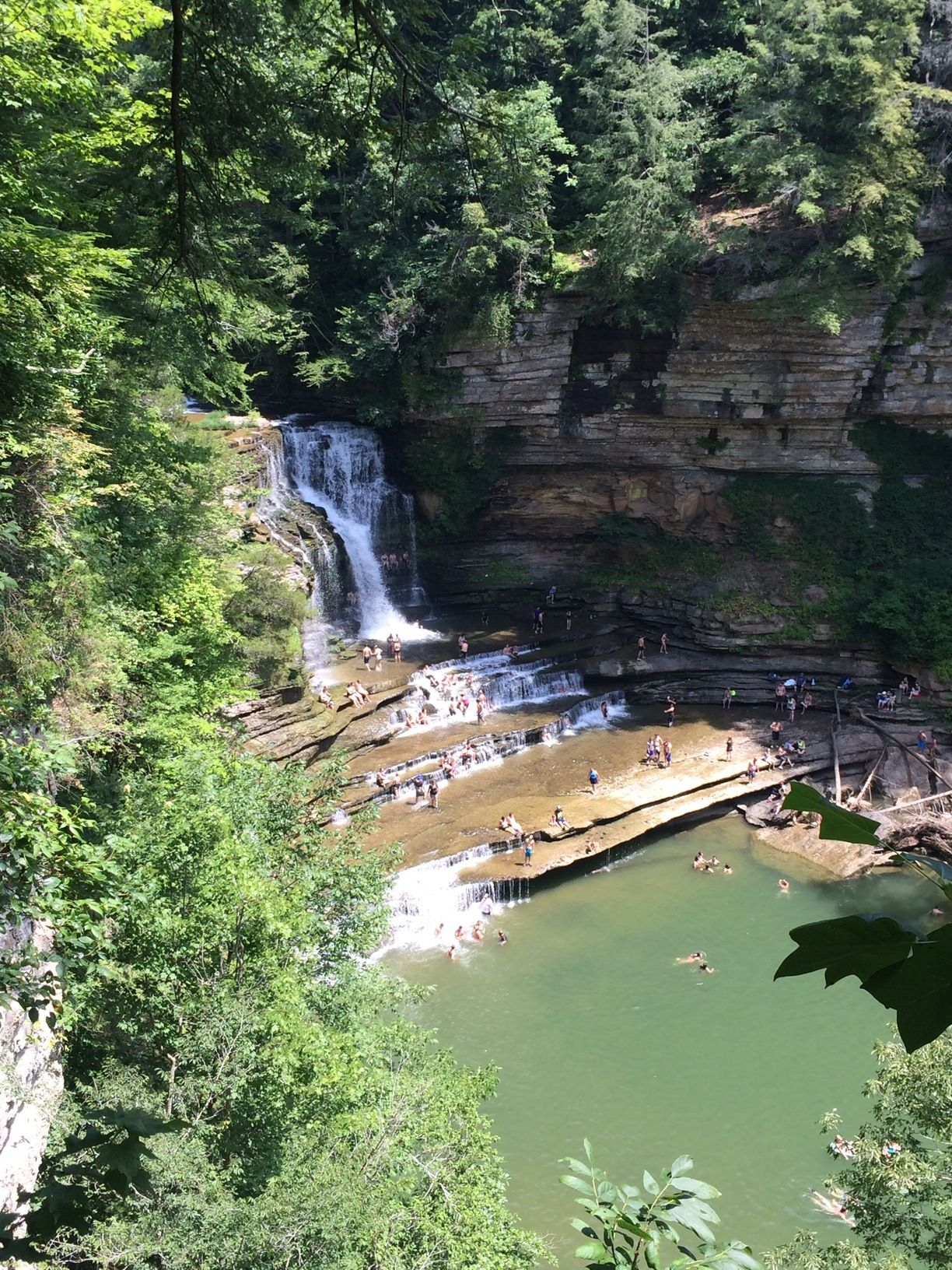Cummins Falls State Park, Jackson County, Tennessee - Best swimming hole there is!