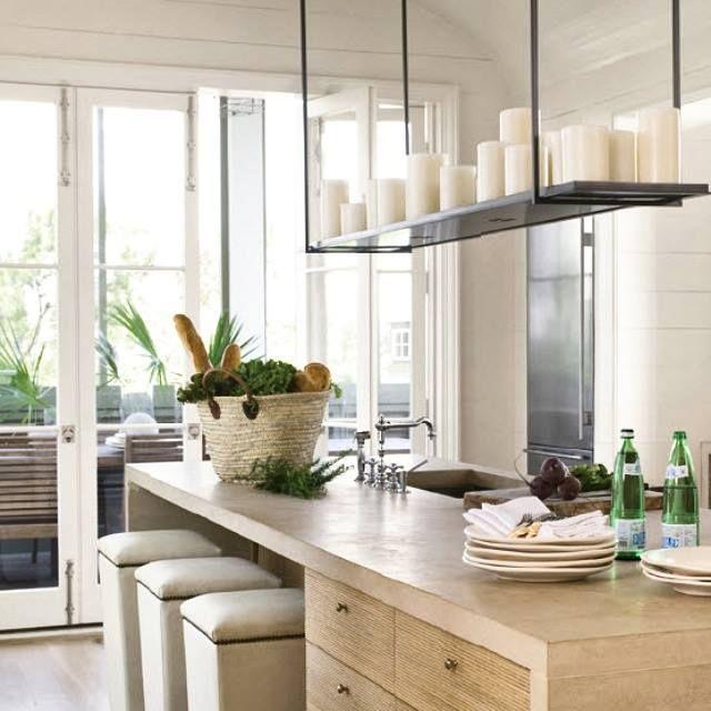 Rich wood tones + sleek design = fresh and serene kitchen. #Altar by ...