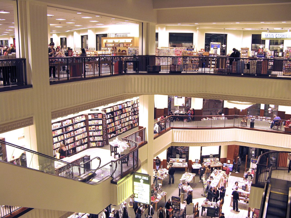 Barnes & Noble Interior Barnes & Noble Wikipedia in