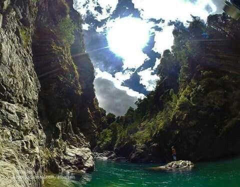 """Go Pro en """"El Paraíso"""", Se llega tomando el sendero que bordea el río tras cruzar el puente colgante al Hielo Azul. #ElBolsón #Hiking #Patagonia #Argentina #TakeAHike"""