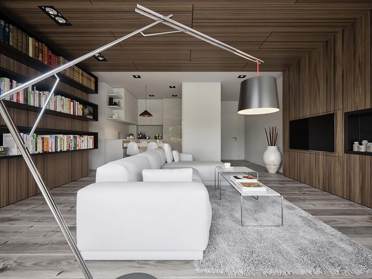 5 Living Rooms With Signature Lighting Styles (Interior Design Ideas)