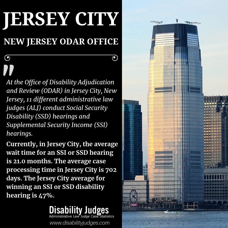 Social Security Field Office Jersey City Nj Disability Judges Jersey City New Jersey Disability