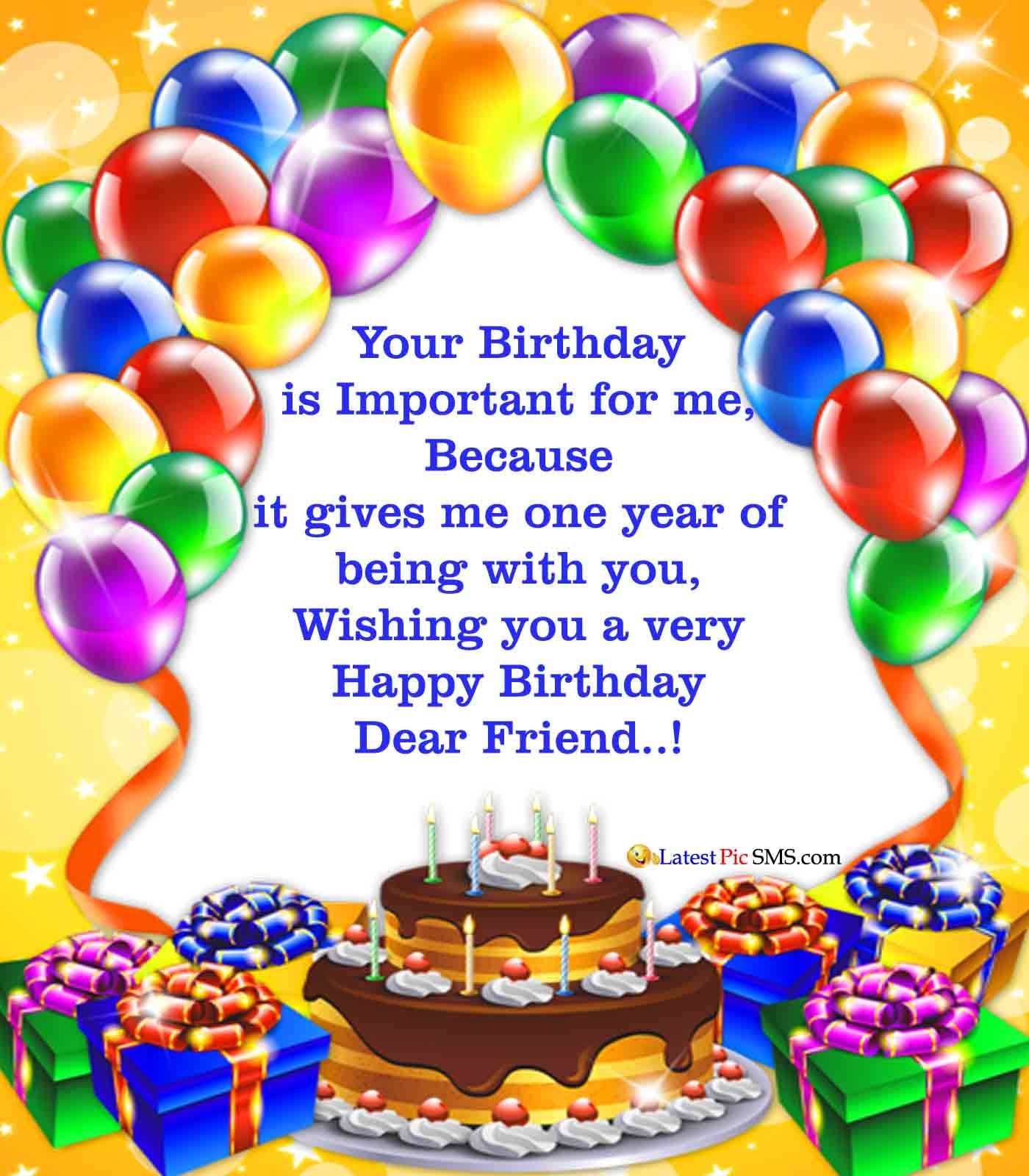 birthday wishes for best friend in hindi shayari Happy