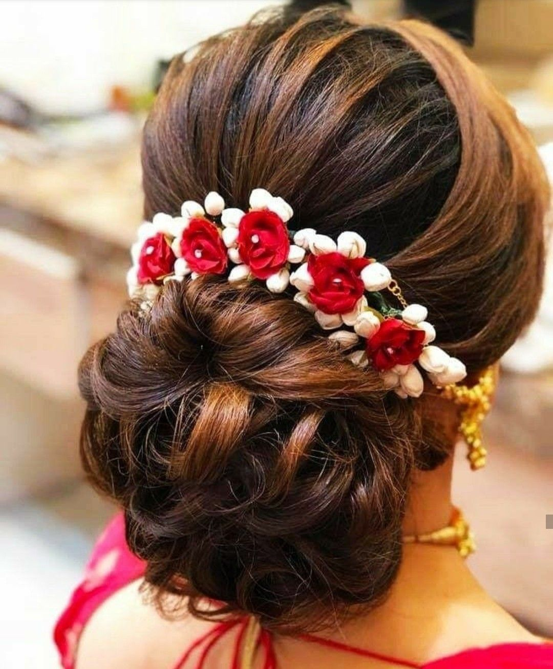 pin by shalieni nadaraja on hair styles | indian wedding