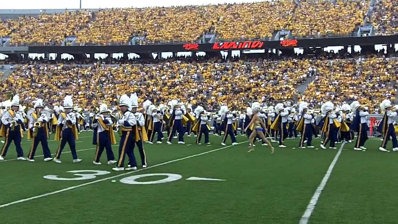 2011 WVU Marching band pregame show Boogie Cadence, Fight