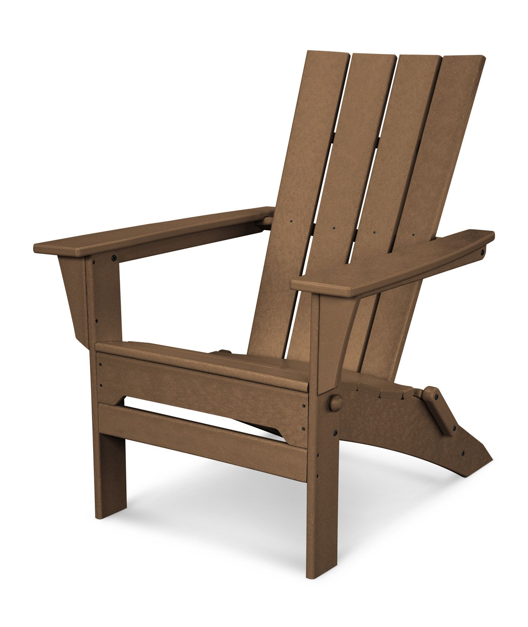 Quattro Recycled Plastic Folding Adirondack Chair Kursi