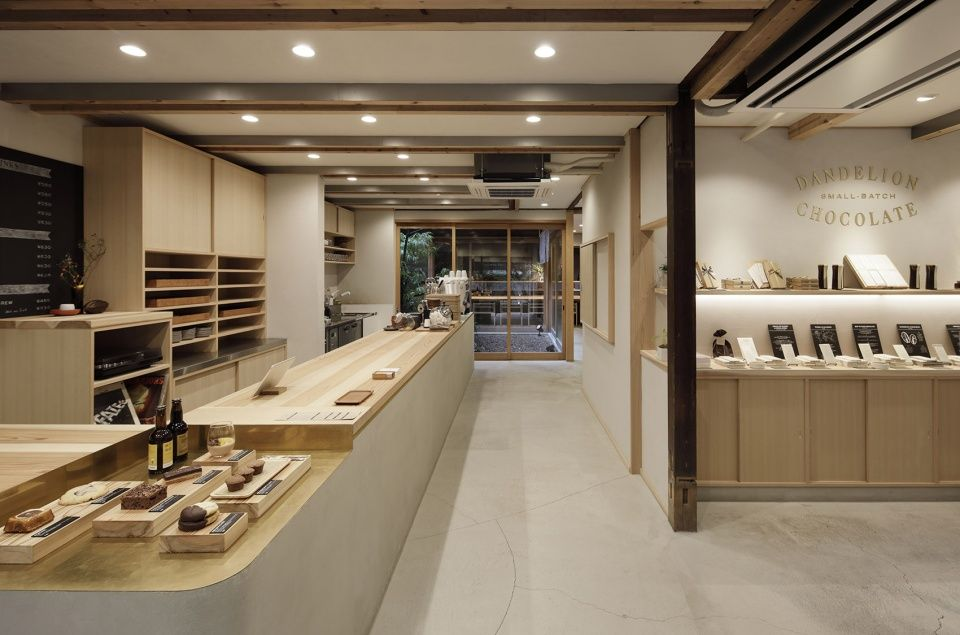 dandelion chocolate 京都 佐野文彦工作室 谷德设计网 cafe interior kyoto commercial interiors