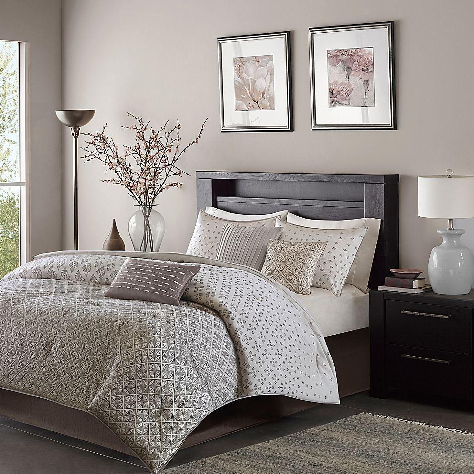 Madison Park Biloxi 7Piece California King Comforter Set