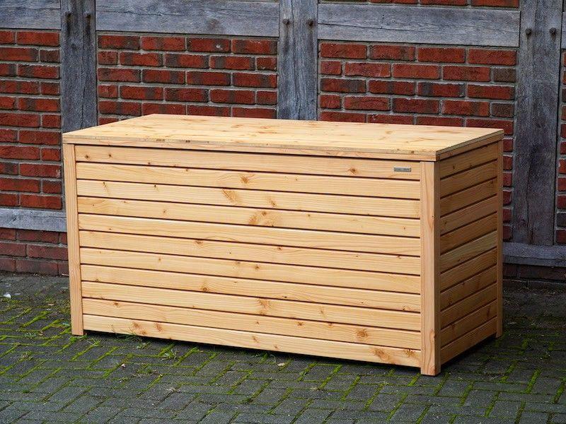 Auflagenbox Kissenbox Gartenbox Holz Wasserdicht