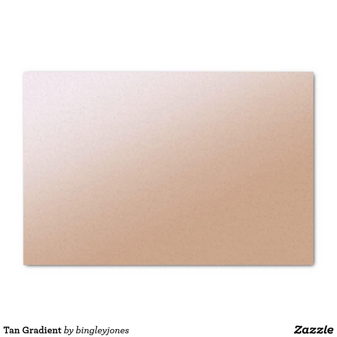 tan gradient tissue paper