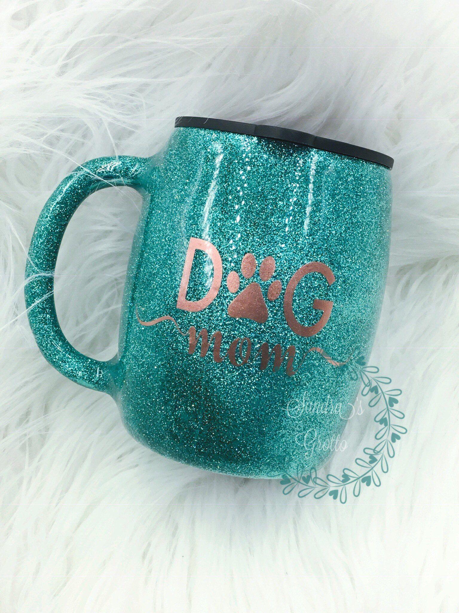 Dog mom hogg stainless steel coffee mug stainless steel