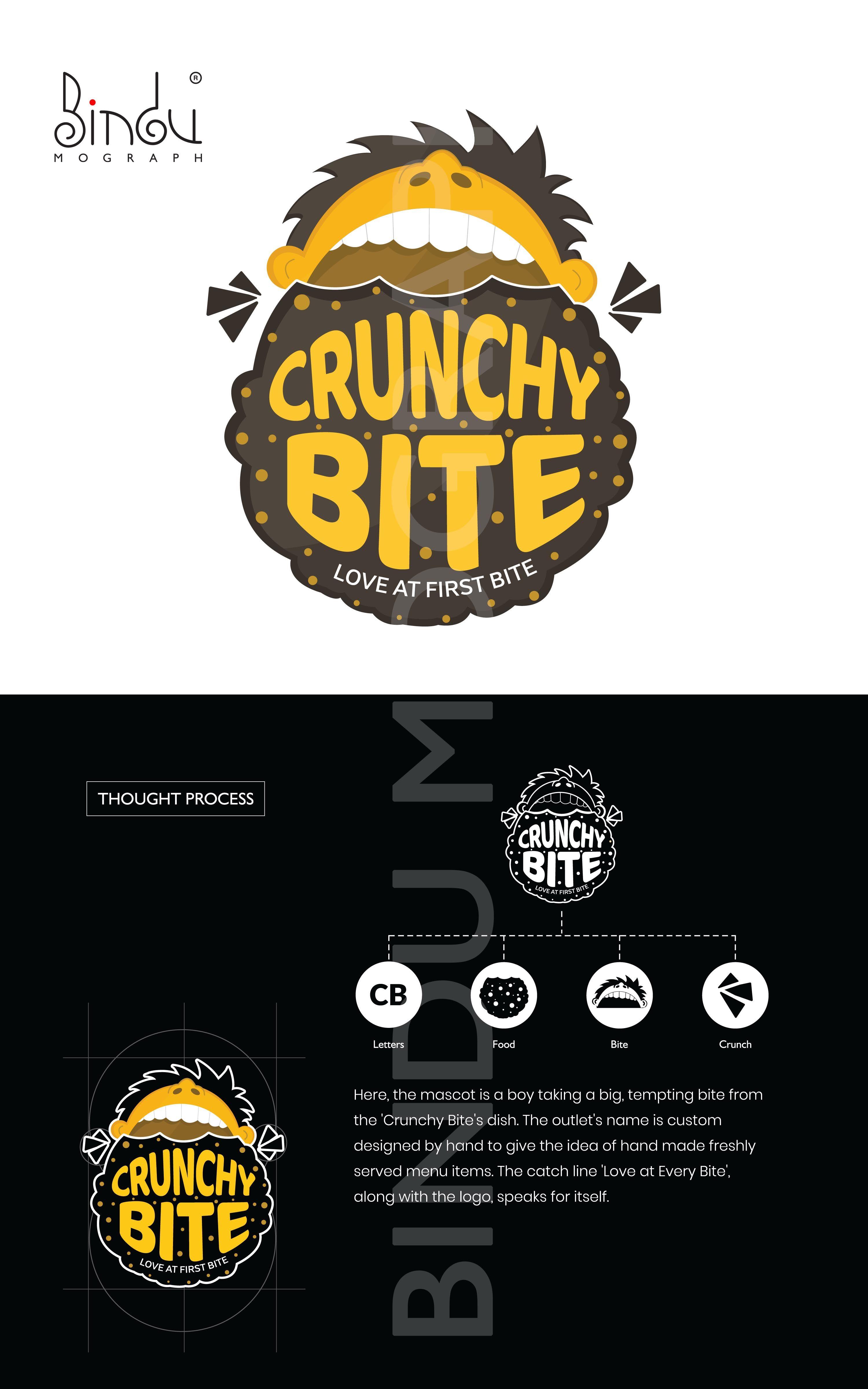 Fast food franchise logo design dengan gambar desain